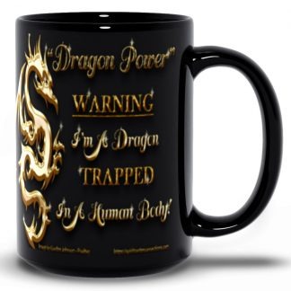 Dragon Power Mug-Black-15oz-Right