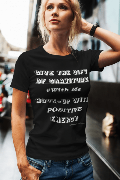 Gift of Gratitude With Me Black Women's T-Shirt